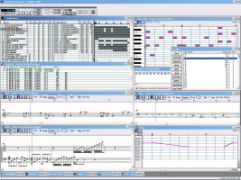 Cakewalk Professional v3.01 in Action (Circa 2010, running under Windows XP)