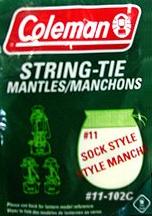 Coleman #11-102C Mantles