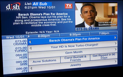 Dish Network - The Obama Channel 73